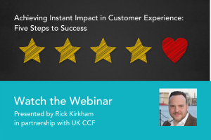 Instant Impact CX on-demand webinar Customer Touch Point